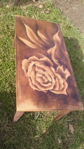 One of David's custom stain pieces.